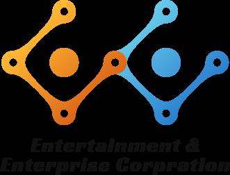 Entertainment & Enterprise社 ロゴ_タテver