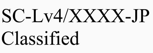 XXXX-JPClassified